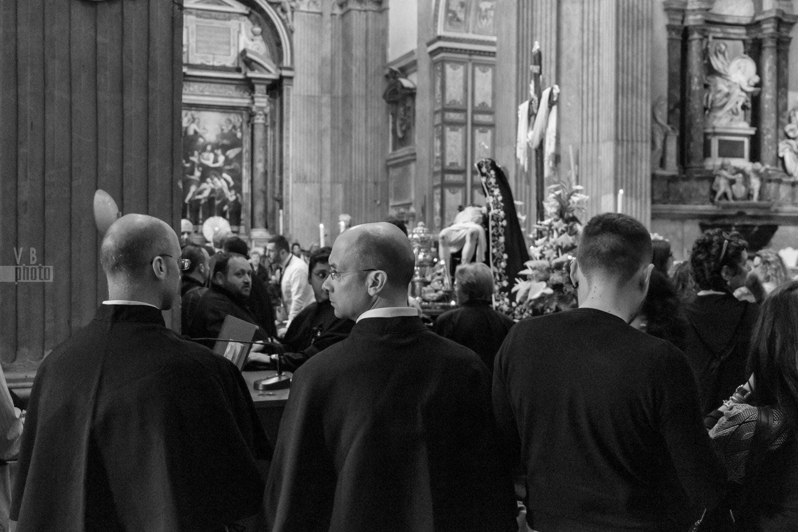La Pietà di Giulio Cozzoli a Roma