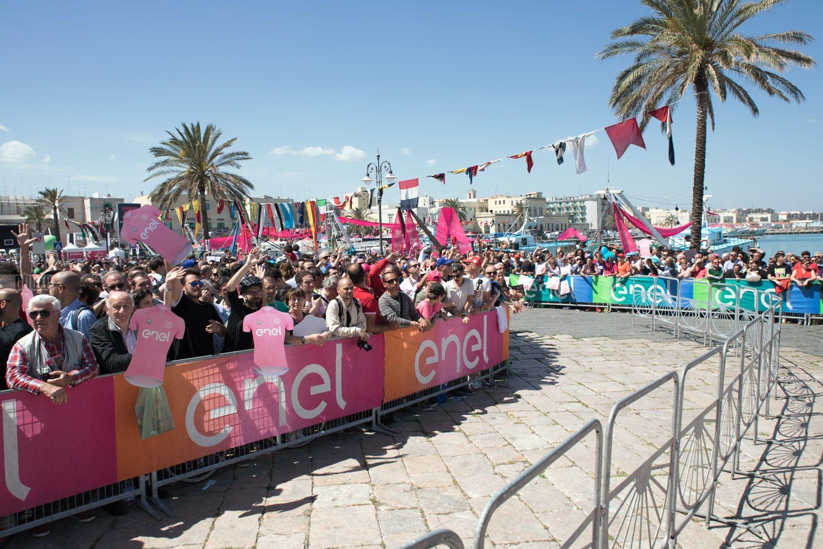 Giro d'Italia 2017 tappa 8 - 13 maggio 2017 - Molfetta