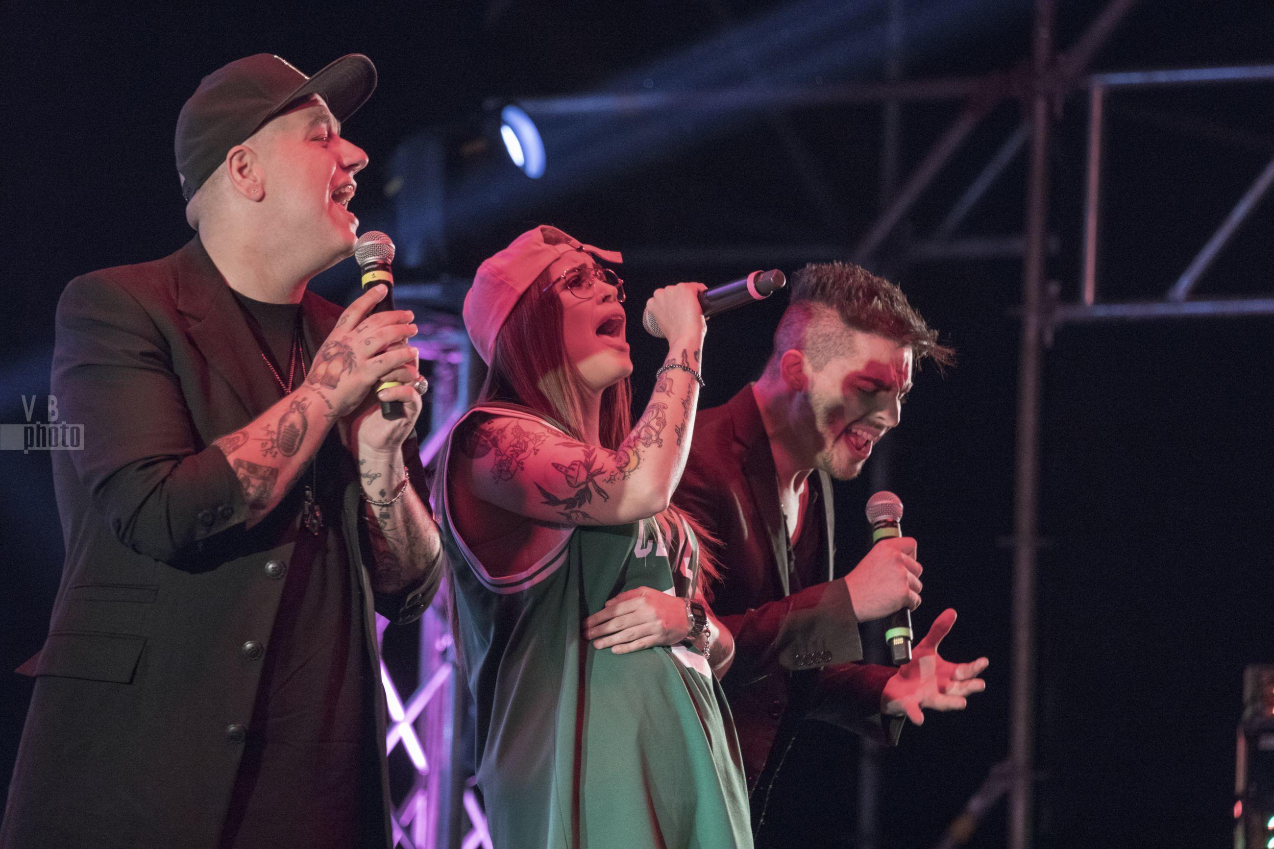 Musicomio ospiti di Pio e Amedeo - 15 luglio 2018 - Molfetta