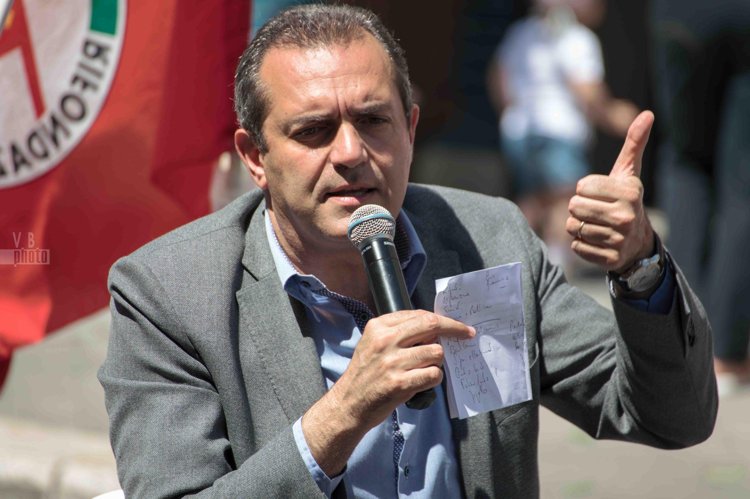 Luigi de Magistris e Gianni Porta - 8 giugno 2017 - Molfetta