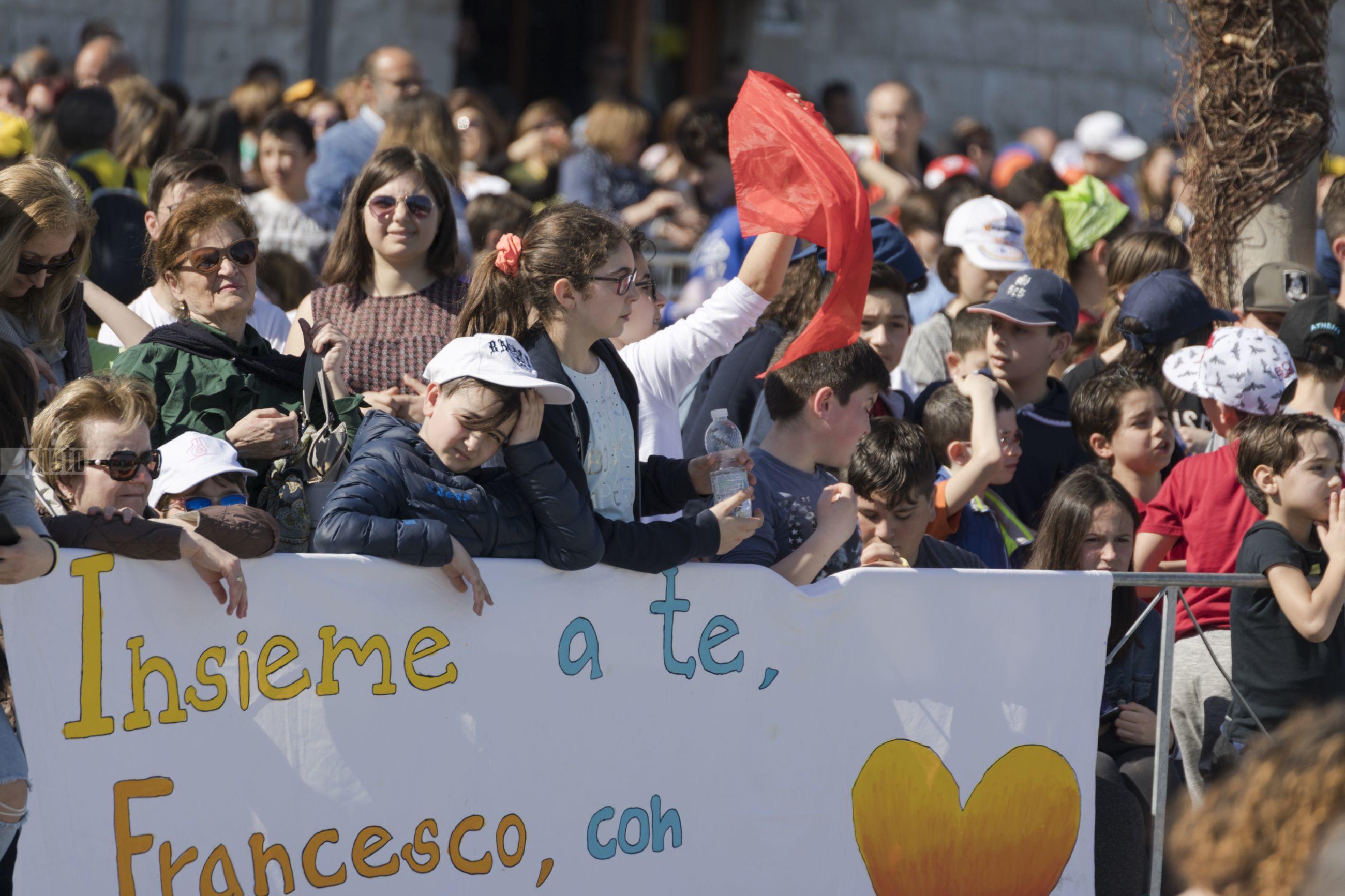 Papa Francesco a Molfetta - 20 aprile 2018