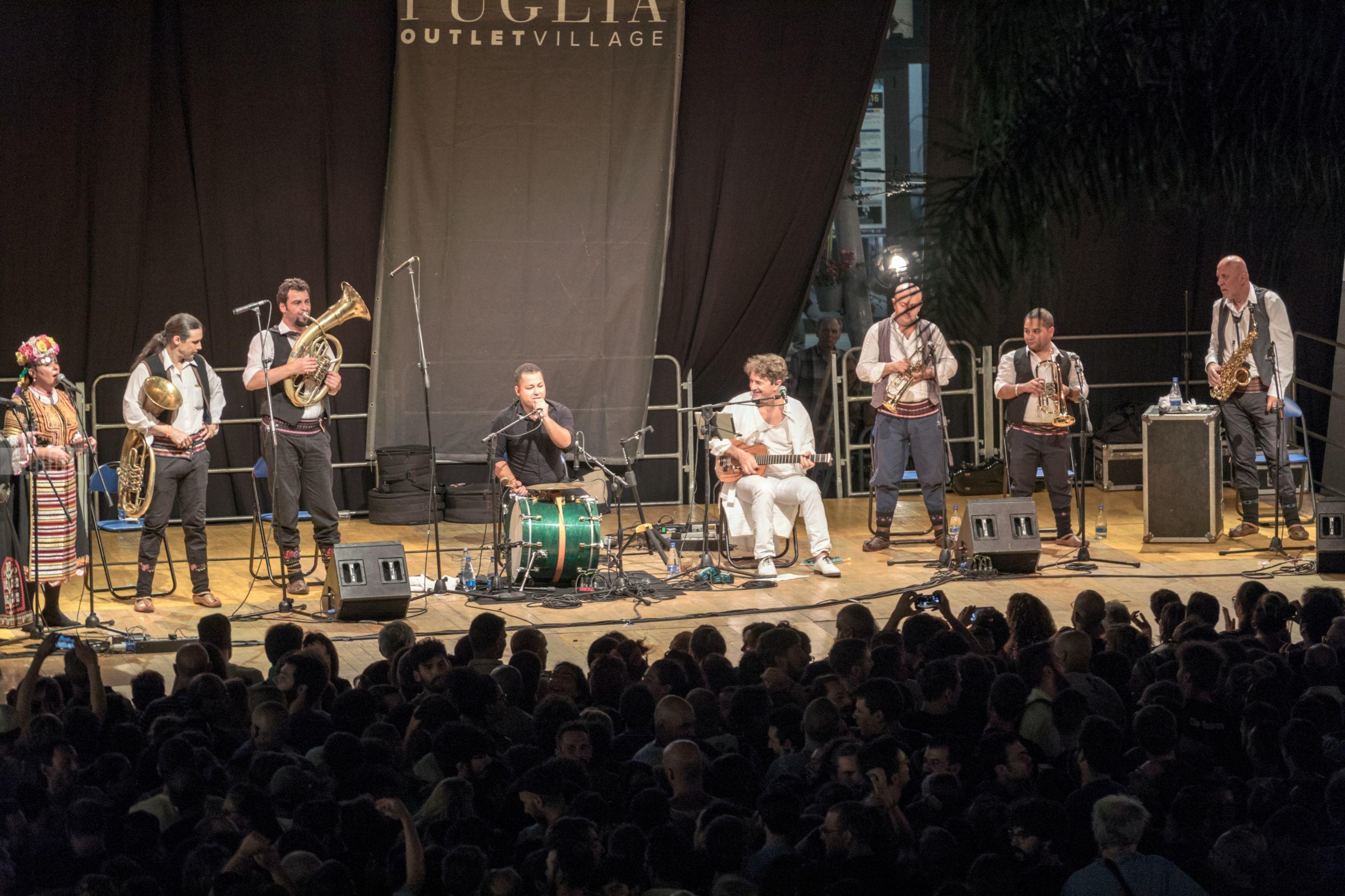 Goran Bregovic all'Puglia Outlet Village - 10 agosto 2017 - Molfetta