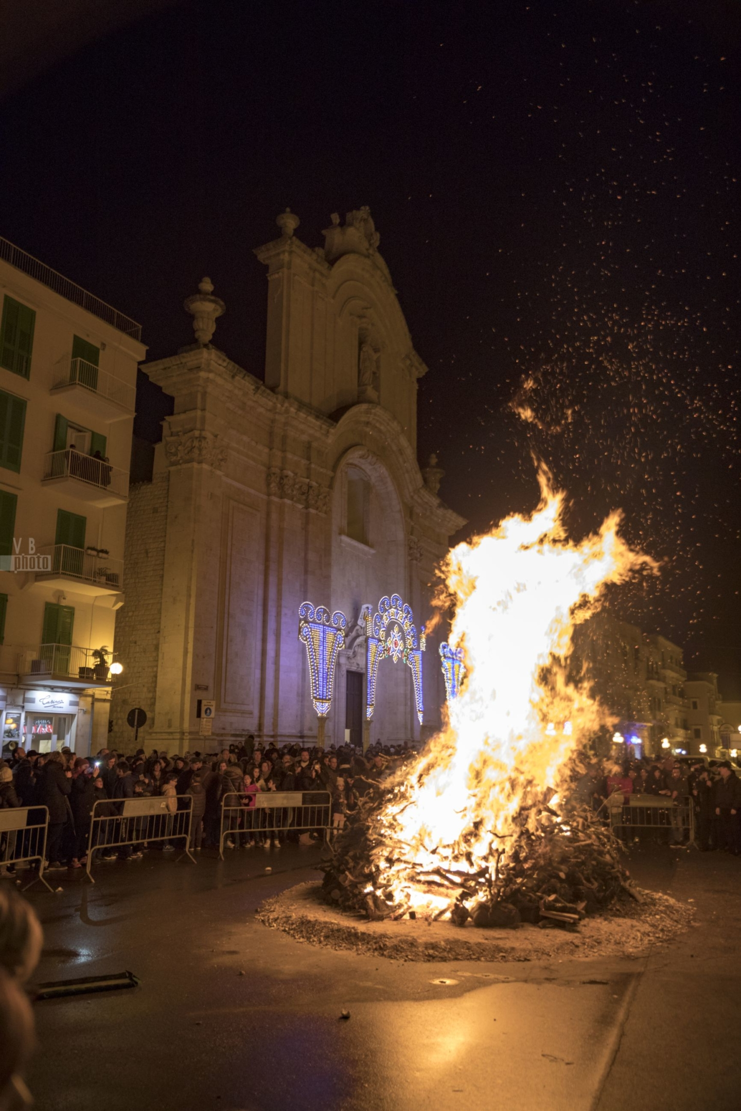 Falò di San Corrado - 9 febbraio 2017 - Molfetta