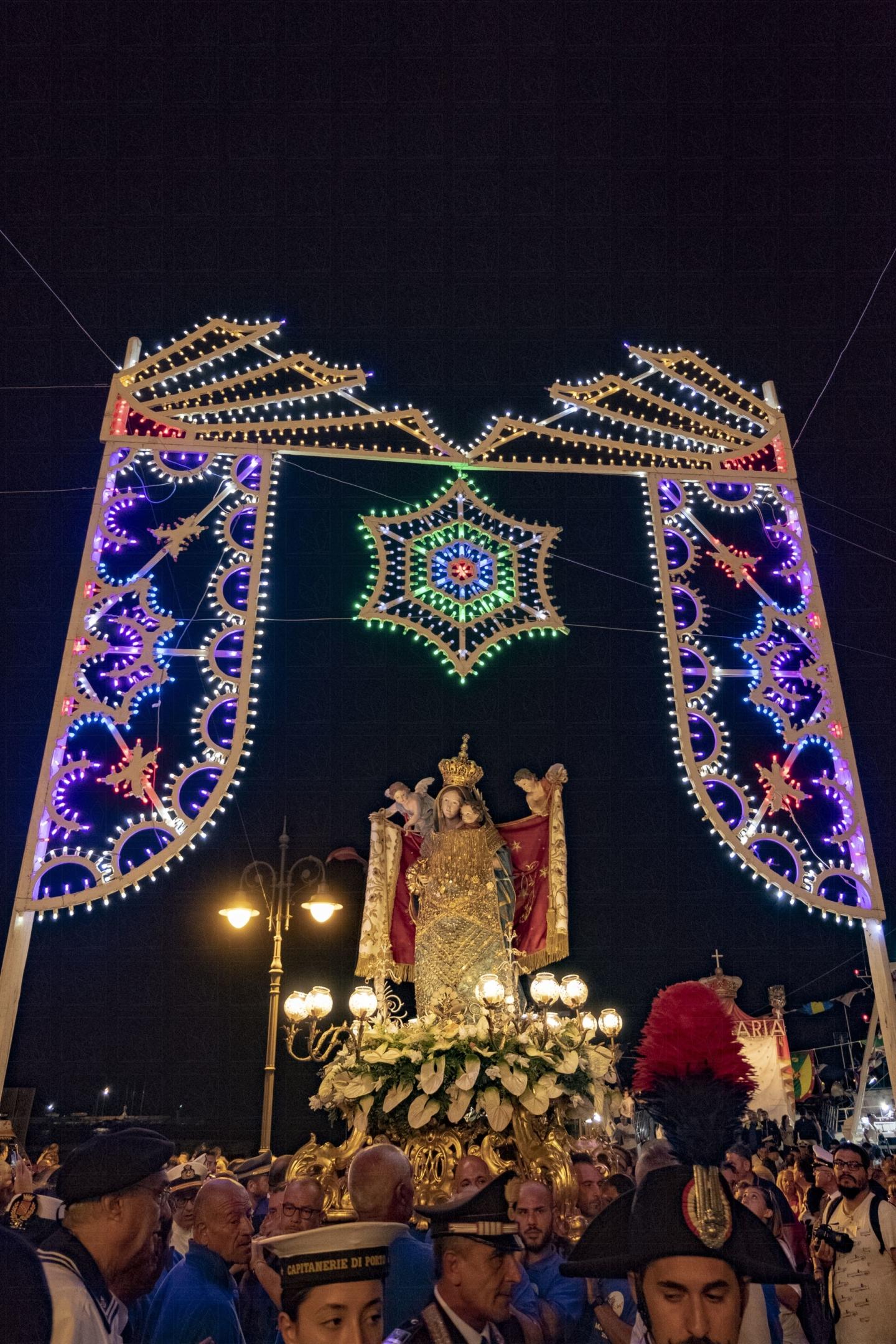 Sagra a mare Madonna dei Martiri - Festa patronale di Molfetta