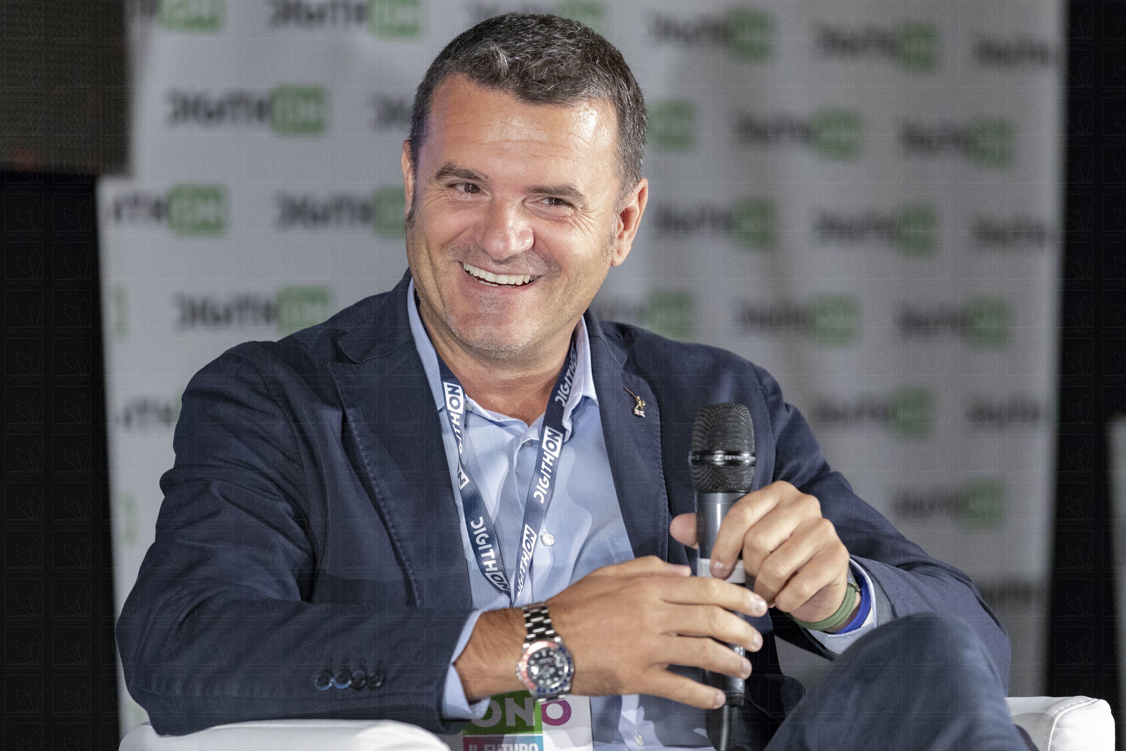 Ministro Gian Marco Centinaio al Digithon - 6 settembre 2018 - Bisceglie